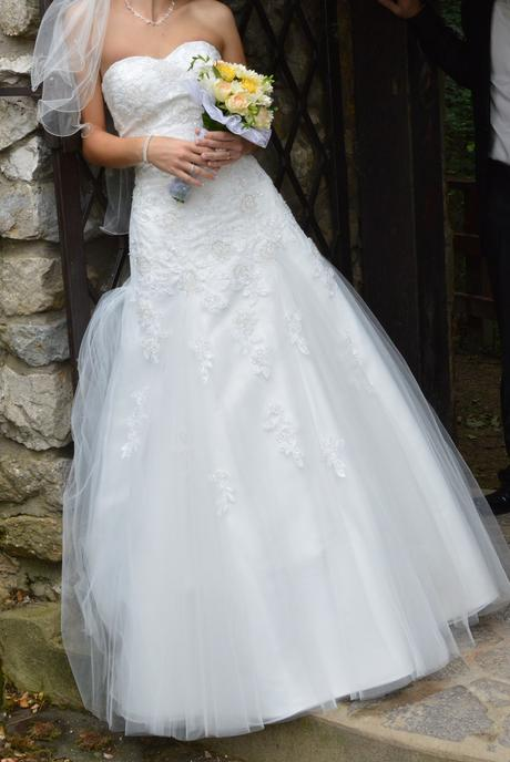 Svadobné šaty 34-36, 36