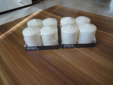 Fialovo-biela výzdoba - spolu alebo jednotlivo,