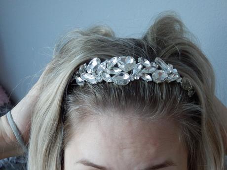 Kamínková čelenka do vlasů,