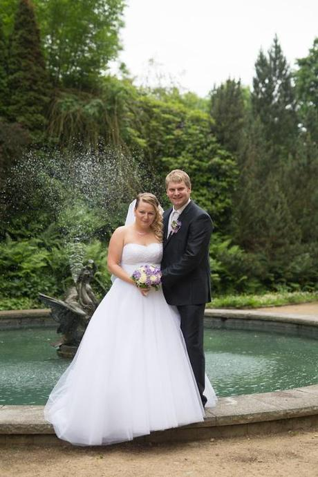 Svatební šaty s tylovou sukní vel. 44-46, 44