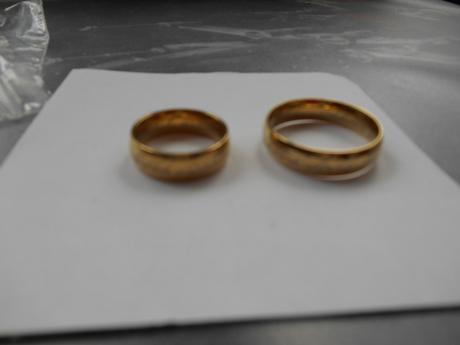 2x Pán prstenů z wolframu,