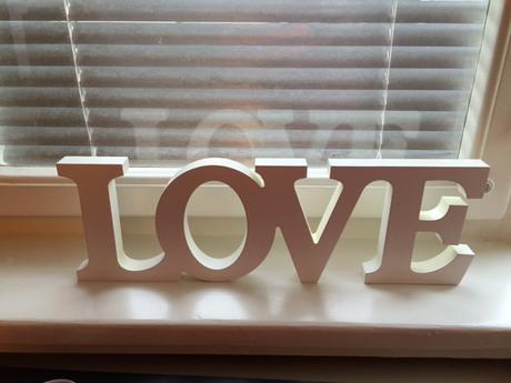 Dekorace LOVE,