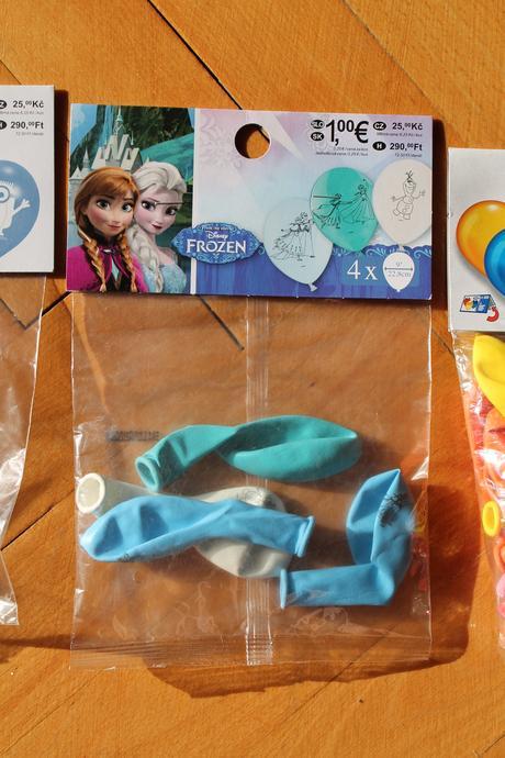 Balonky Frozen,