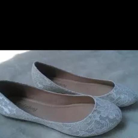 Luxusni krajkové svatební baleríny , 39