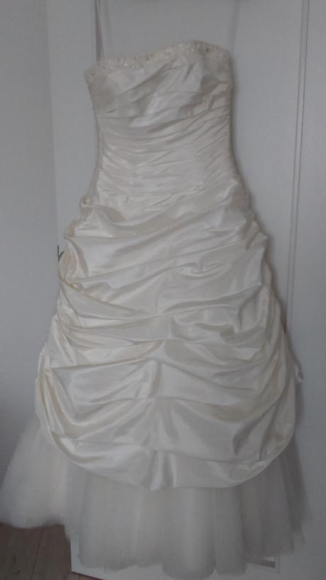 svadobné šaty farby ivory veľ. 36, 36