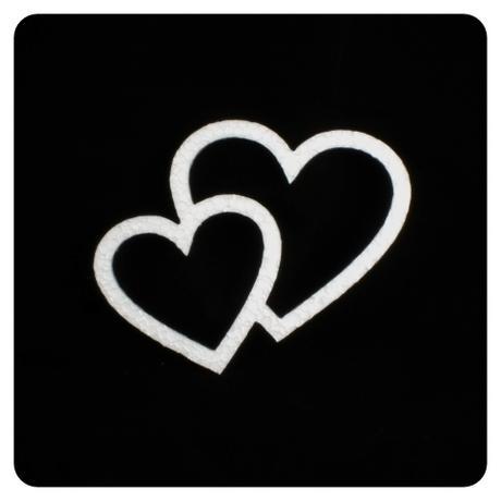 Polystyrénové srdcia (2),