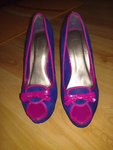 Modro-ružové lodičky, 39