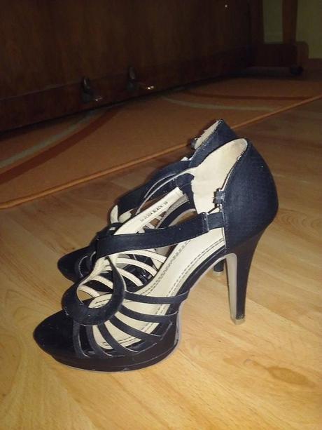 Vysoké sandálky, 39