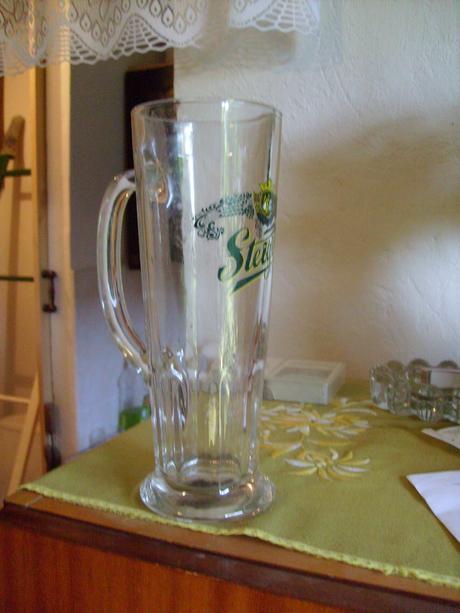 Pivové poháre,