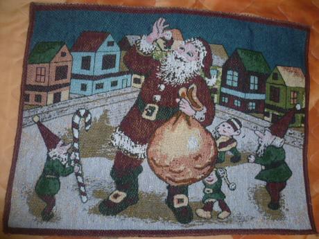 Vianočné prestieranie -nepoužité,