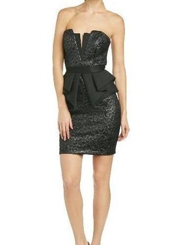 Čierne nenosené šaty-Lipsy London, 38