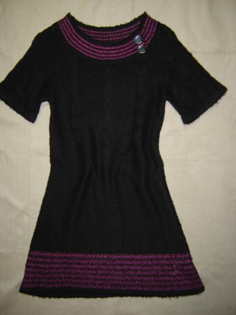 Čierne šaty - Okay - veľ.M, 38