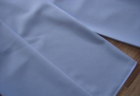 Elegantné bledomodré nohavice-oblečené 1x, 36