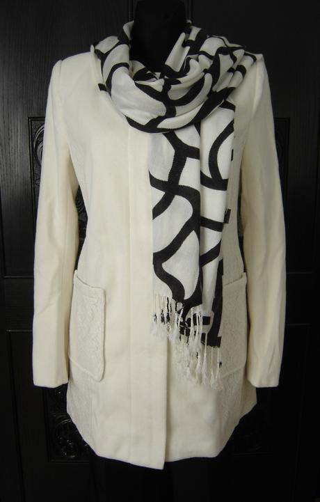 Elegantný prechodný kabát,nenosený - veľ. M, 38