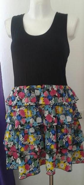 Farebné dámske šaty - River Island-veľ.L/XL, 42