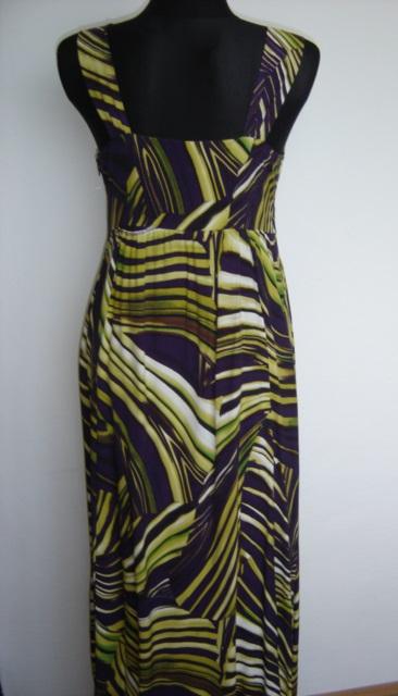 Farebné maxi šaty - George-veľ.M/L, 40