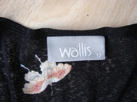 Farebný top s 3/4 rukávom-známej zn.Wallis-veľ.S/M, 36