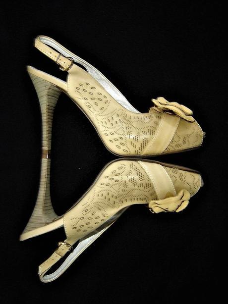 Kožené nenosené sandále s platformou-PC 66eur, 38