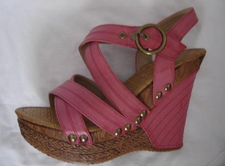 Nenosené sandále na platforme - veľ.36,5/37, 37
