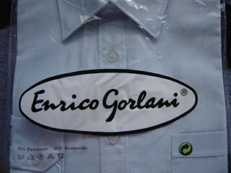 Pánska košeľa - Enrico Gorlani , 40