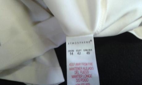 Spoločenské šifónové šaty, veľ.UK/14, 40