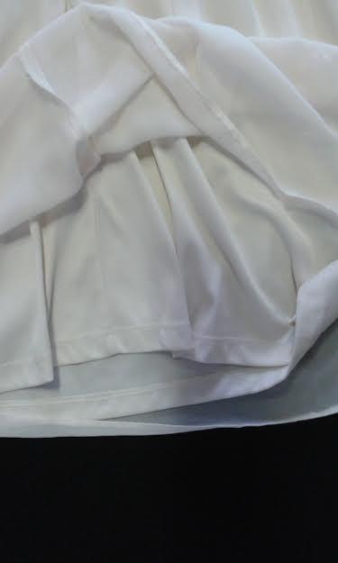 Spoločenské šifónové šaty, veľ.UK/14+čierny opasok, 40