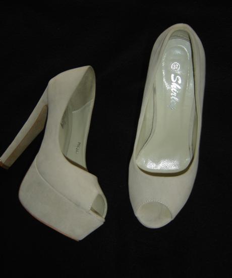 Topánky na platforme - obuté 1x, 37