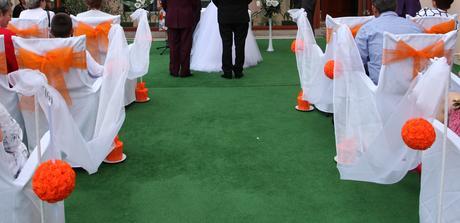 Svadobná dekorácia,
