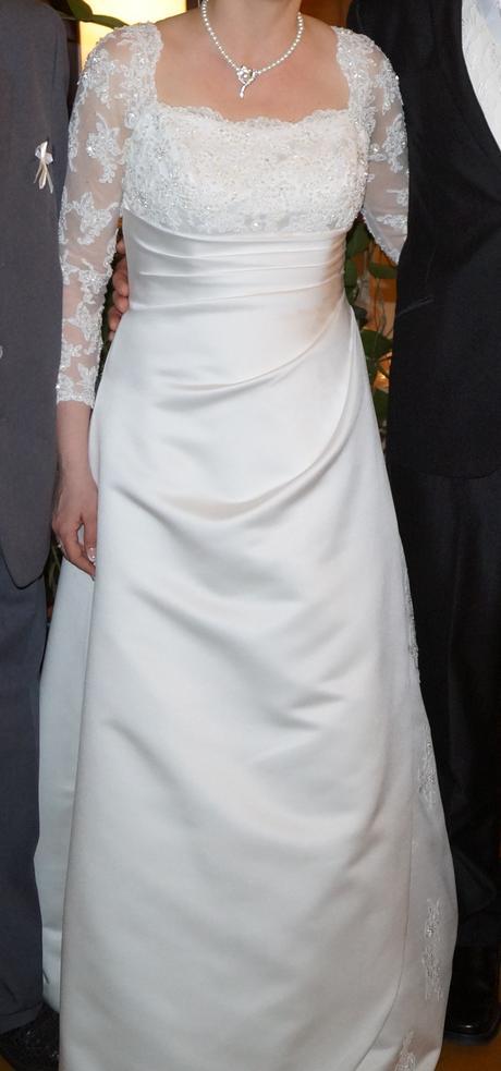Vintage svadobné šaty, 38