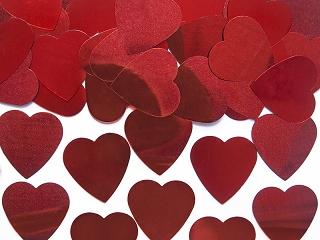 konfety srdce,motylek a kyticky,