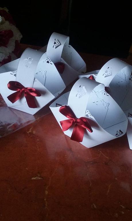 svatebni kosicky na vysluzky v barve vasi svatby ,