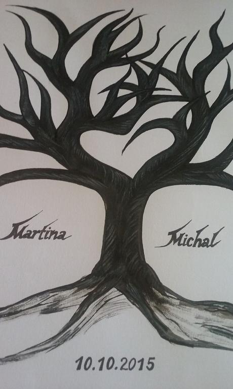 svatebni strom ,