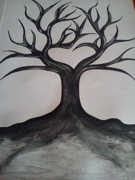 svatebni strom na otisky prstu ,