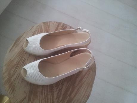 Sandale biele, 41