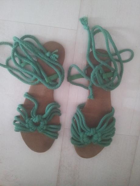 Zelene sandalky, 41