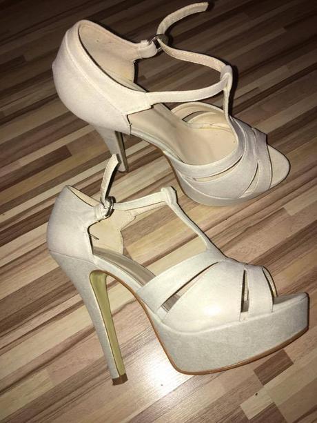 Sandále na platforme, 38