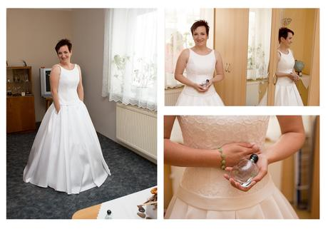 Svatební šaty s kapsami, 38