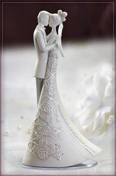 Svadobná soška Gina Freehill na prenájom,