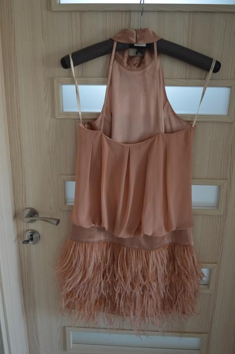 Nádherné mangano šaty, S