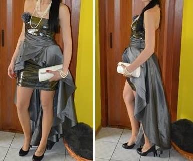 Nádherné spoločenské šaty, S