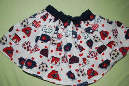 Suknička s parádnou spodničkou - Early Days,, 68