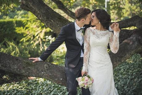 Gabbiano. Luxusní svatební šaty., 36