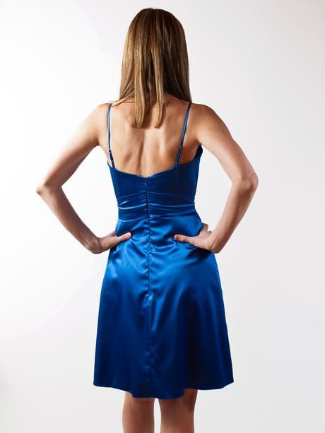 Šaty saténové + bolerko, 38