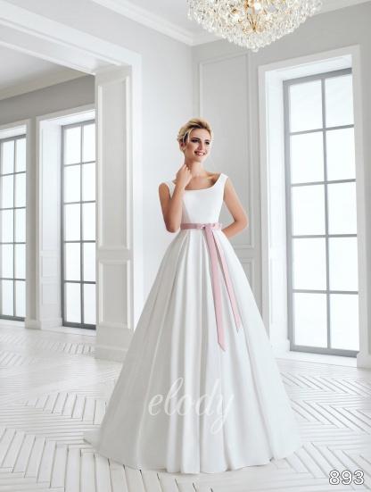 b3e3dccc15e5 Svadobné šaty z elody veľkosť 44-48