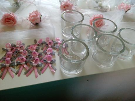 Svatební výzdoba stolů,