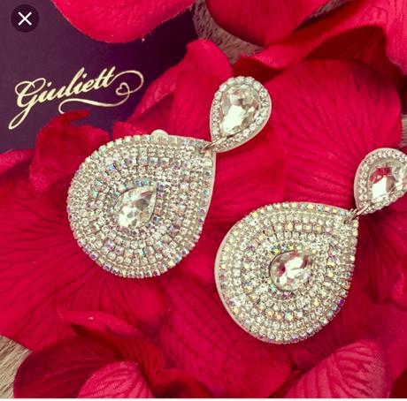 Giuliett hand made wedding náušnice,