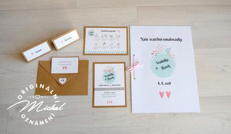 Svatební oznámení - TYP 19,