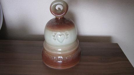 keramický zvonček,