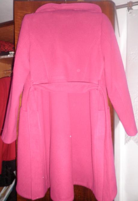 Dámsky kabát s opaskom, 40