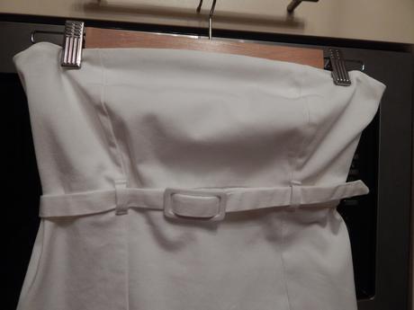 Dámské šaty bílé vel. M, M